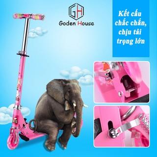 Xe trượt scooter Godenhouse, xe trượt thể thao cho bé – Bảo hành 12 tháng. -h