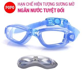 Kính bơi thời trang chống tia UV, chống lóa 1938 POPO ngăn nước tuyệt đối, thiết kế thể thao kiểu dáng thời trang