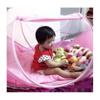 Nệm mùng di động cho bé Happy Baby loại 1( made in Thái)