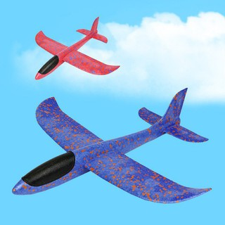 BOBORA Throwing Glider Plane Foam Aircraft Toy Hand Launch Airplane Outdoor Toy