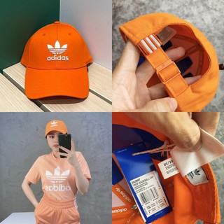 💖[ HÀNG XUẤT FULL TAG CODE ] Nón / Mũ lưỡi trai Adidas Trefoil Baseball Cap – Orange EK2997 / Ảnh Thật / GIÁ TỐT NHẤT