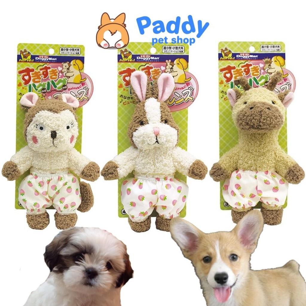 Thú nhồi bông đáng yêu đồ chơi cho chó Doggyman
