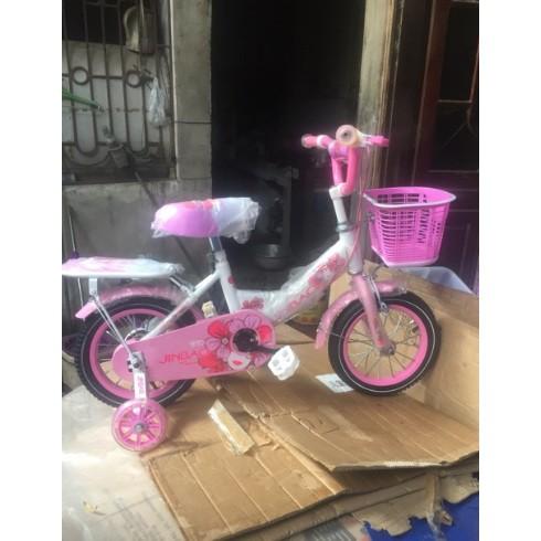 [Trợ giá] Xe đạp mini nữ cho bé từ 2 đến 7 tuổi (bánh 12, 14, 16 inch)