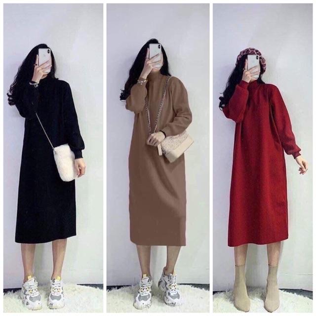 Váy suông tay bồng nữ siêu hot  VAY1212