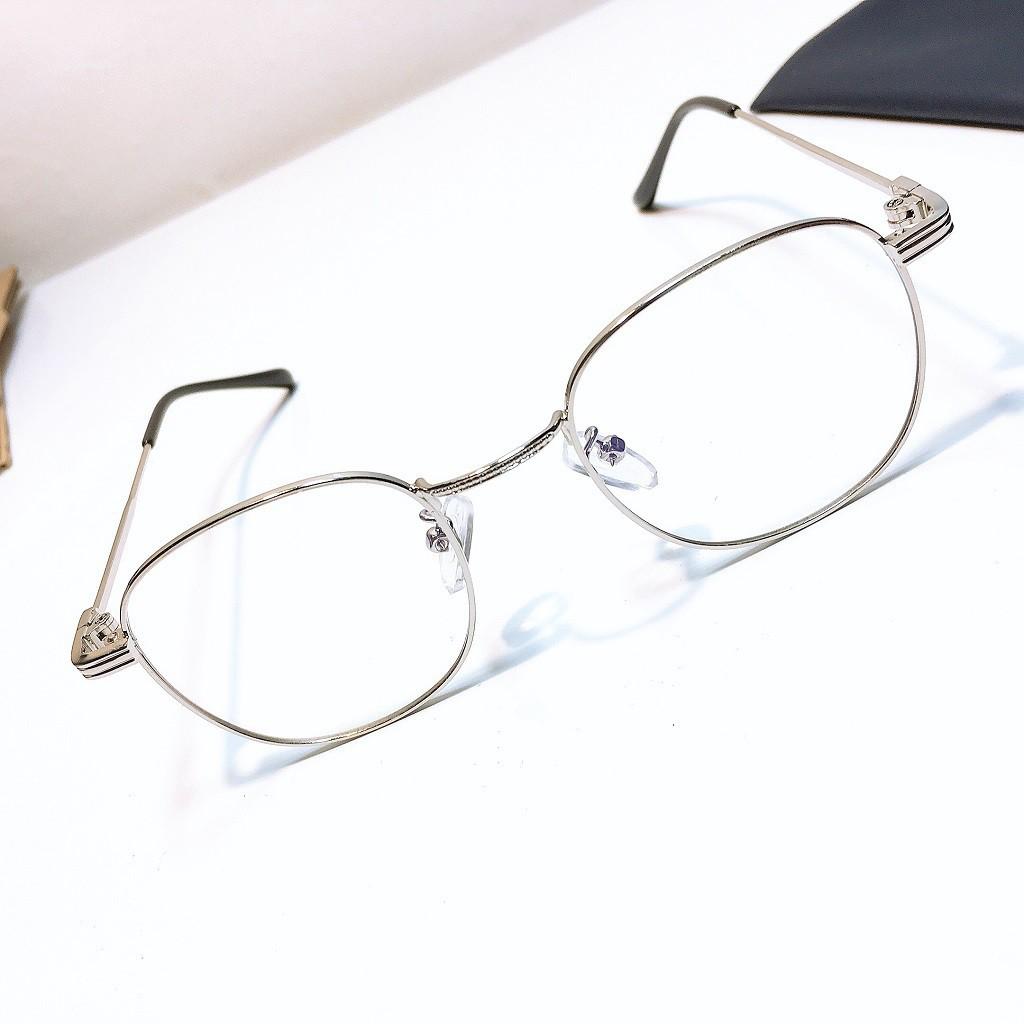 Gọng kính kim loại 1910 kèm mắt cận viễn loạn