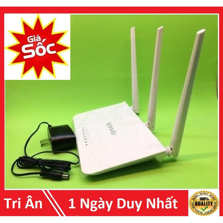 Modem wifi 3 râu tốc độ cao 300mbps, sóng xuyên tường