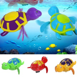 Redkee Vipeco Fashion Wind-up Turtle Bath Time Animal Clockwork Floating Kid Baby Swimming Pool