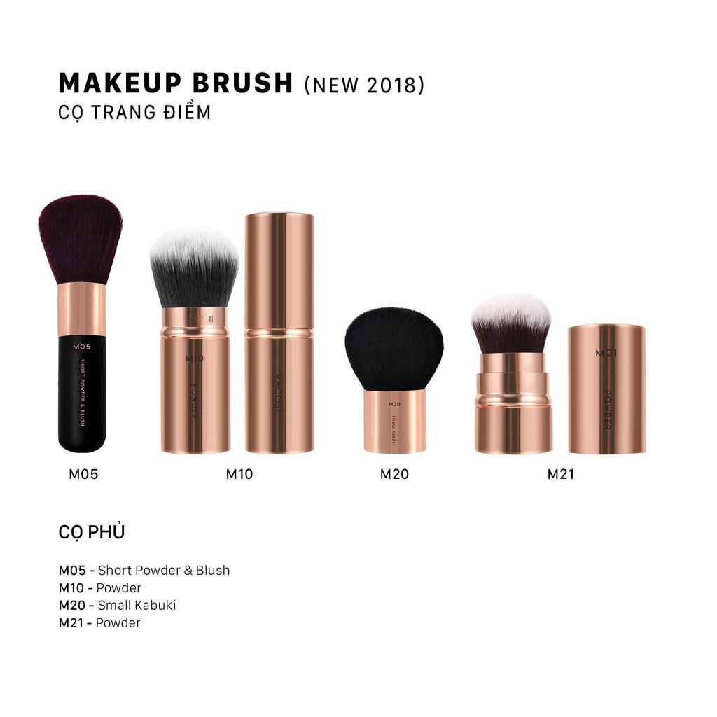Cọ Trang Điểm Vacosi Makeup Brush Các Loại (Cọ Má, Mắt, Môi, Mũi ...)
