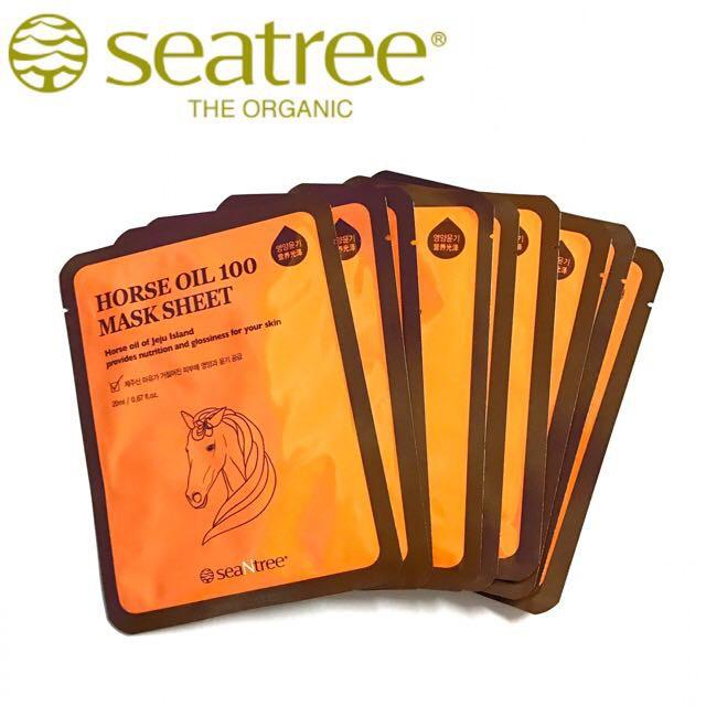 Mặt nạ dầu ngựa Horse Oil 100 Mask Sheet Seatree - 3532214 , 789803934 , 322_789803934 , 25000 , Mat-na-dau-ngua-Horse-Oil-100-Mask-Sheet-Seatree-322_789803934 , shopee.vn , Mặt nạ dầu ngựa Horse Oil 100 Mask Sheet Seatree