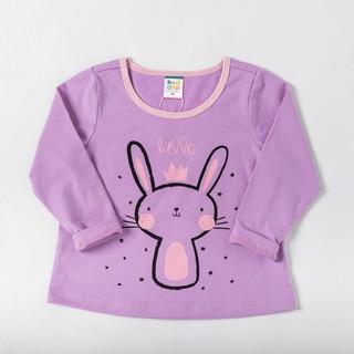 Áo thun dài tay Beddep Kids Clothes in hình cao cấp cho bé gái G02 thumbnail