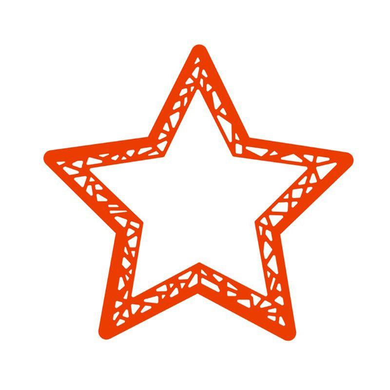 Khuôn cắt giấy kim loại hình ngôi sao năm cánh 309