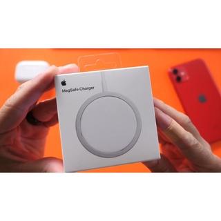 [Sạc Magsafe] Sạc nhanh không dây Chính hãnh Apple 18W Cao cấp cho IPhone 12 và Máy hộ trợ sạc không day Qi