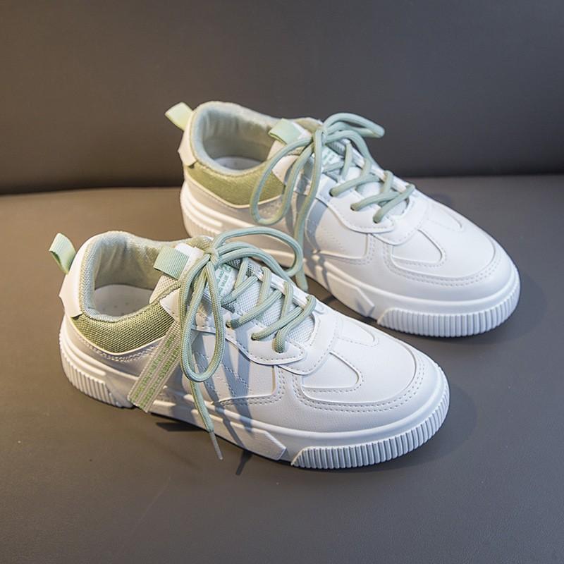 Giày Thể Thao Nữ [FREESHIP] hot trend đế thấp xinh xắn dễ thương êm chân hồng xanh lá - Giảm ngay 20k - A3