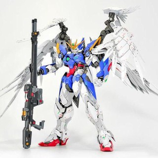 [Freeship - hàng ORDER] Wing zero Mô Hình Lắp Ráp Gundam MG 8820 HiRM Wing Zero Daban tặng kèm action base thumbnail