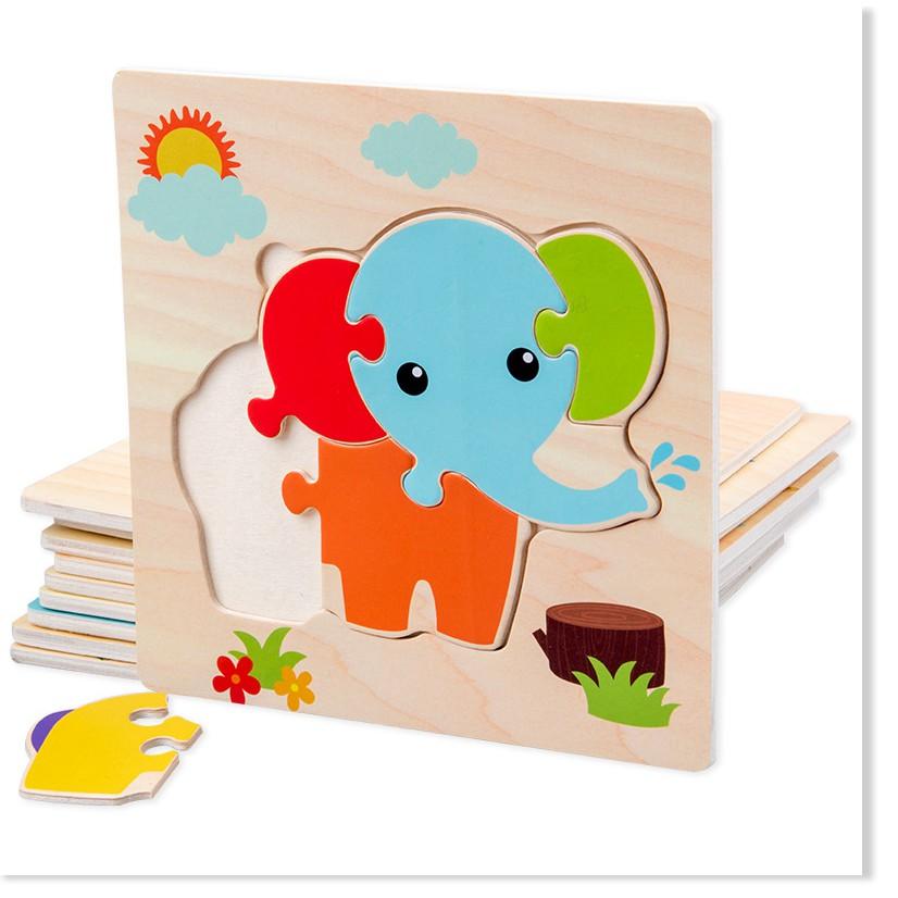 Đồ chơi ghép hình cho trẻ em giúp phát triển trí thông minh ở trẻ em