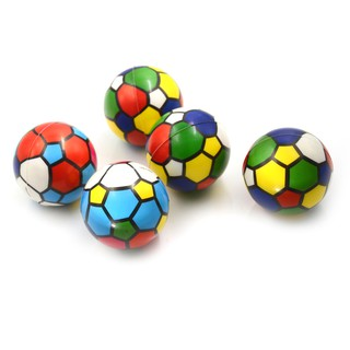 {NUV} 6.3cm Colorful Sponge Foam Ball Squeeze Stress Ball Relief Toy PU Rubber Toy{LJ}