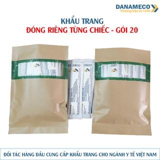 Khẩu trang loại mỗi gói 1 cái Danameco - Gói 20 thumbnail