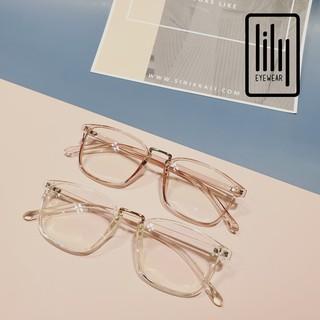 Hình ảnh Gọng kính cận vuông chất liệu nhựa dẻo phụ kiện thời trang nữ Lilyeyewear 210 nhiều màu-3