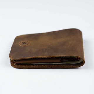 [DA THẬT] Ví Da thủ công handmade Gerbera Handcrafted Mini Wallet – HAVIAS
