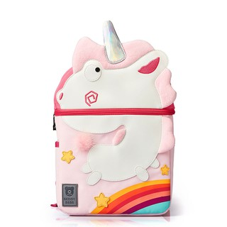 BEDDYBEAR Balo cho bé học tiểu học từ 6 đến 10 tuổi, chính hãng chất liệu nhẹ an toàn, họa tiết xinh xắn thumbnail