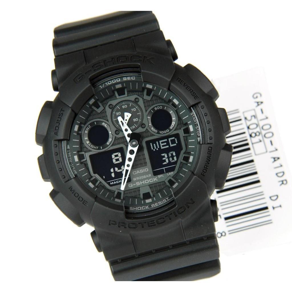 Đồng hồ nam Casio CHÍNH HÃNG GA-100-1A1DR