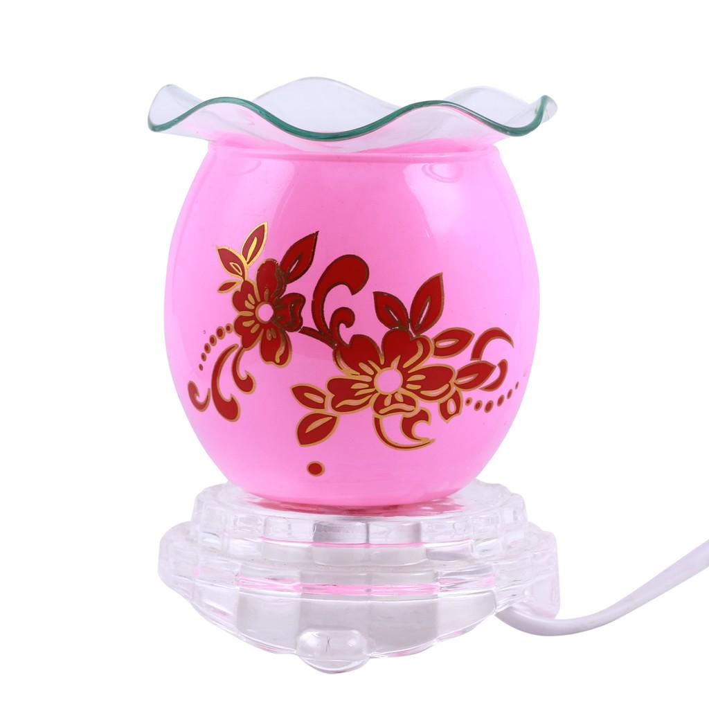 Đèn xông tinh dầu (hồng)