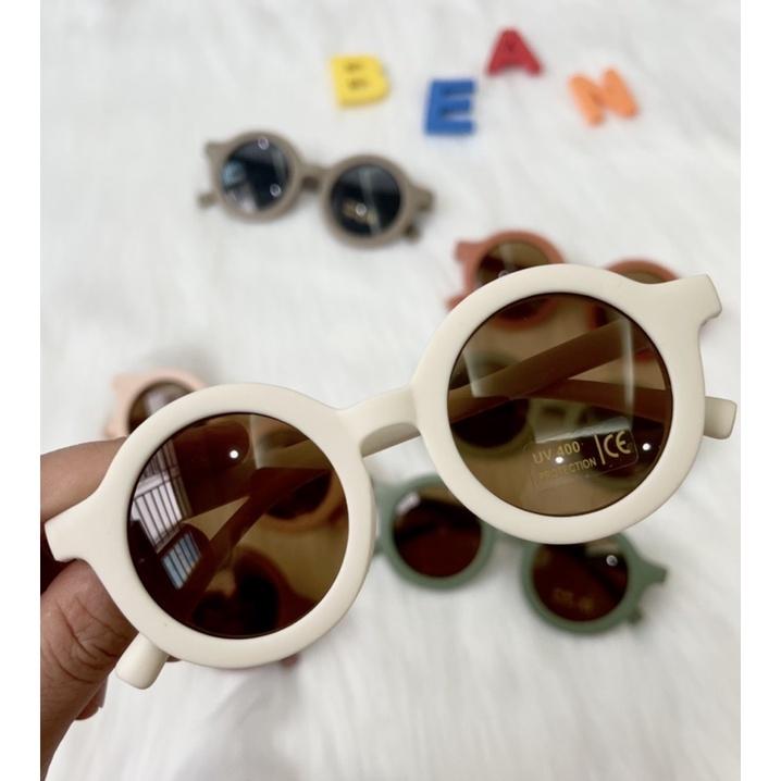 Kính mát cho bé chống tia UV bảo vệ mắt cho bé mùa hè