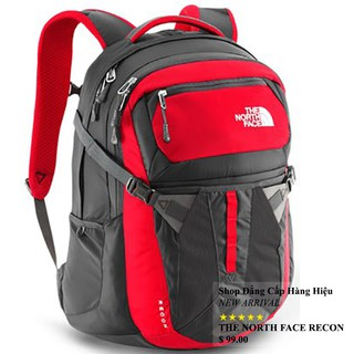 Balo Laptop The North Face Recon chính hãng màu đỏ