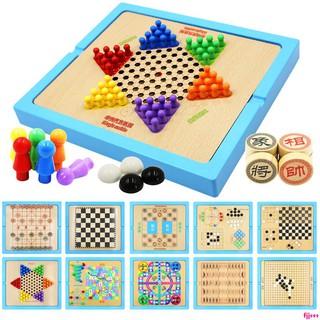 bộ cờ vua bằng gỗ đa năng