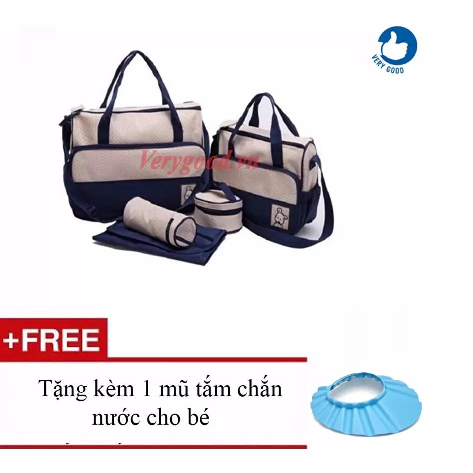 Túi đựng đồ cho mẹ và bé 5 chi tiết+ tặng 1 mũ chắn nước cho bé( vrg00859 ) - 3018694 , 156001528 , 322_156001528 , 185000 , Tui-dung-do-cho-me-va-be-5-chi-tiet-tang-1-mu-chan-nuoc-cho-be-vrg00859--322_156001528 , shopee.vn , Túi đựng đồ cho mẹ và bé 5 chi tiết+ tặng 1 mũ chắn nước cho bé( vrg00859 )