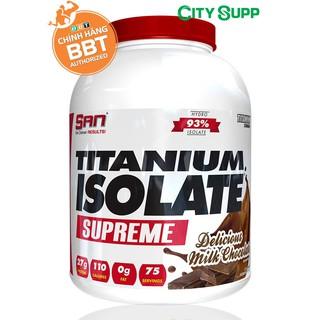 Titanium Whey Isolate – Tăng cơ đẳng cấp nhất – Hàng chính hãng BBT