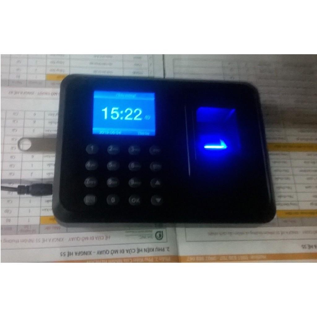 Máy Chấm Công Quét Vân Tay 911 Giá chỉ 750.000₫