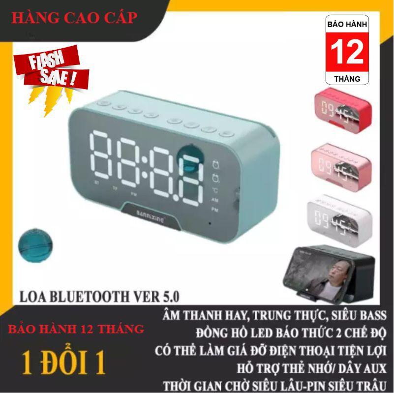 [Bảo hành 12 tháng] Himiso k10 Loa Bluetooth - Đồng Hồ Báo Thức ( Đa chức Năng )