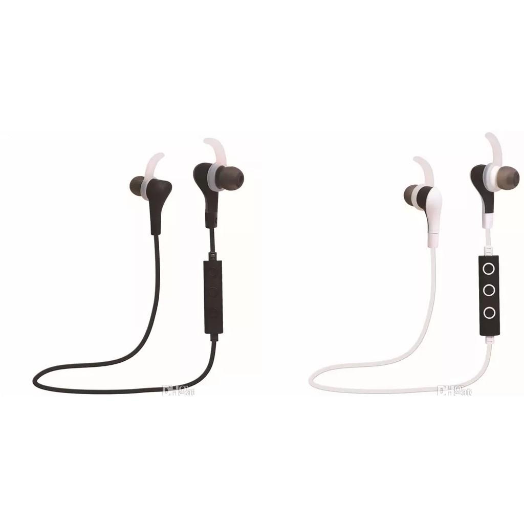 Tai nghe không dây Bluetooth Stereo Headset Siêu âm Bass Âm thanh nổi Stereo màu trắng [HÀNG NHẬP KHẨU]