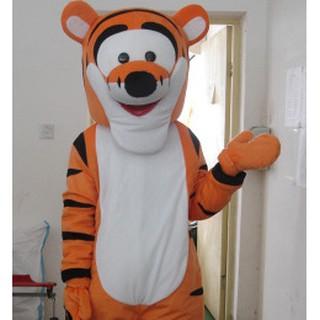 Quần áo hoá trang Mascot Hổ Tiger cam – sinh nhật, sự kiện
