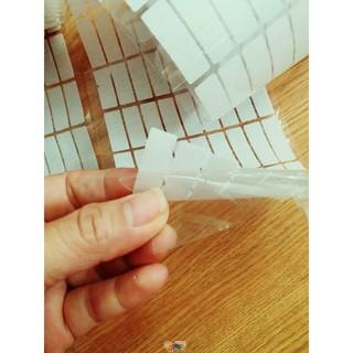 Dính gai/khóa nhám/verclo hình chữ nhật 1cm*3cm – 100 cặp có keo dán rất chắc