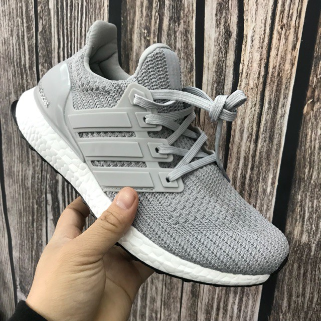 🎁FULL BOX🎁 Giày Sneaker Nam, Nữ U.B 4.0 Xám Cao Cấp