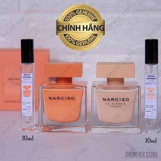 [NEW 2020] Nước Hoa Narciso Ambree | Poudree Eau de Parfum [Mẫu Thử]