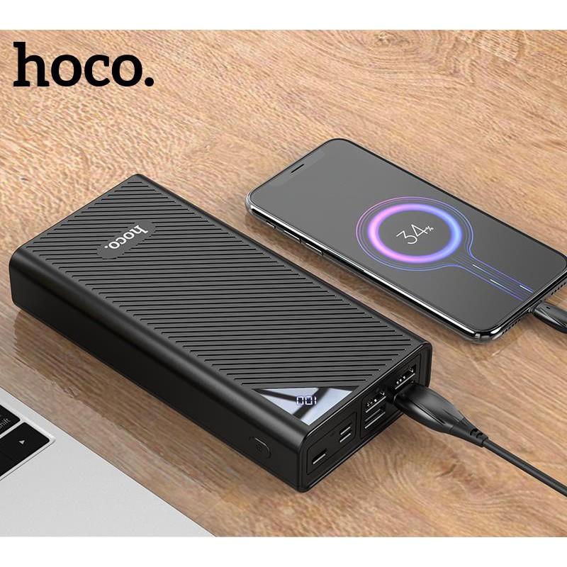 [Mã 267ELSALE hoàn 7% đơn 300K] Sạc pin dự phòng Hoco King Kong DB04 30000mAh Chính Hãng - Ốp lưng iphone - Shin Case