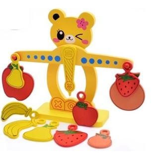 [Ana Kids] Đồ chơi cân gỗ thăng bằng đáng yêu cho bé FRESHIP 99k