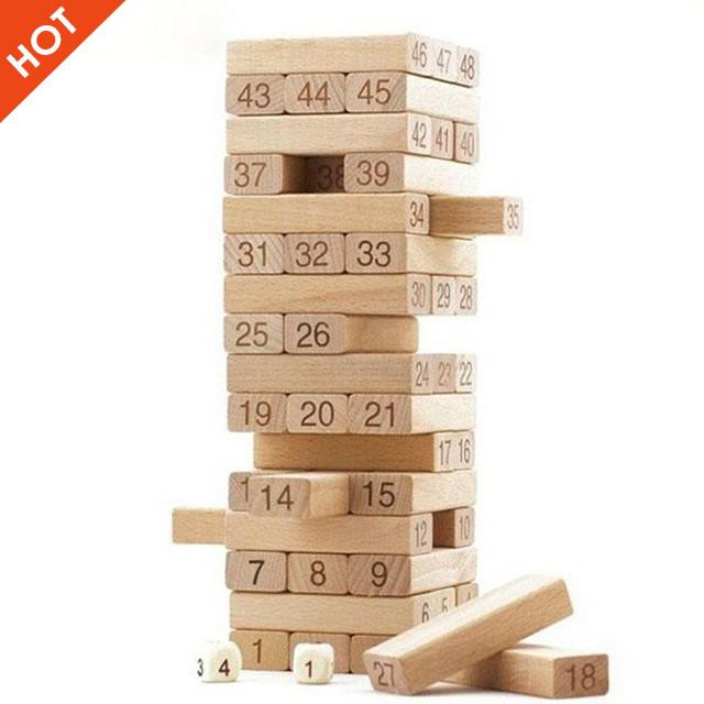 Bộ đồ chơi rút gỗ 48 thanh to   HÀNG ĐẸP