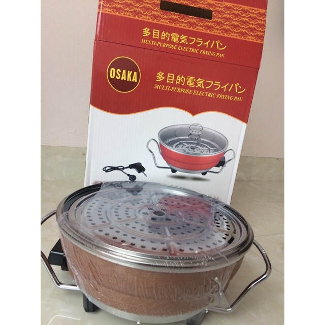 Nồi lẩu nướng đa năng osaka made in japan
