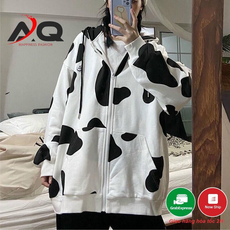 Áo Khoác chống nắng bò sữa Hoodie Unisex thời trang cao cấp giới trẻ hot Trend hiện nay 2021