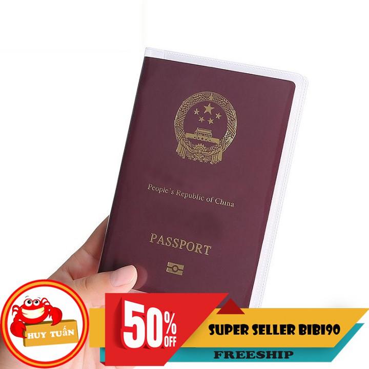 Vỏ bọc hộ chiếu chống thấm tiện ích (BHC01)