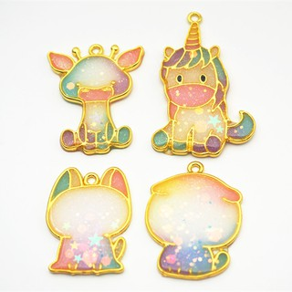 【CÓ SẴN] Set 4 con thú ngựa, hươu, chó, mèo