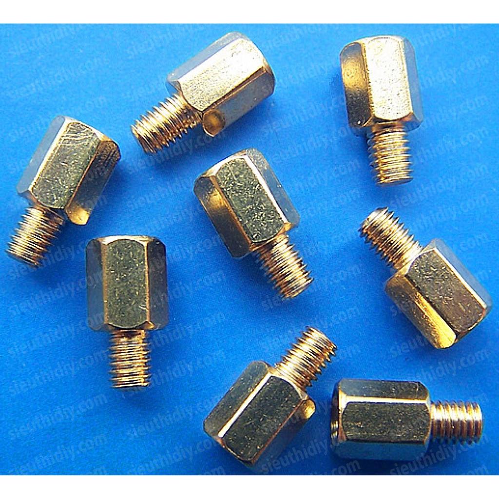 Đế đồng, trụ đồng vặn ốc vít M3*4/5/6/7+5mm đực cái PCB - 3021932 , 1018506998 , 322_1018506998 , 50000 , De-dong-tru-dong-van-oc-vit-M34-5-6-75mm-duc-cai-PCB-322_1018506998 , shopee.vn , Đế đồng, trụ đồng vặn ốc vít M3*4/5/6/7+5mm đực cái PCB