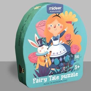 Mideer – Bộ xếp hình câu chuyện cổ tích Alice ở xứ sở thần tiên – MD3058 (Hộp gồm 36 mảnh cho bé 3Y+)