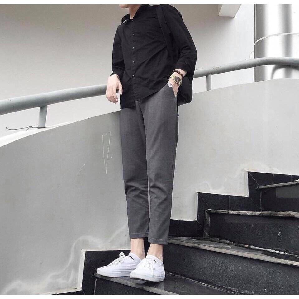 Quần kaki lưng thun hot trend siêu đẹp