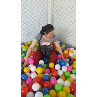 50 quả bóng nhựa trẻ em size 8cm