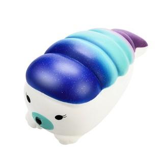 Đồ chơi xốp squishy giảm stress hình hải cẩu dễ thương cho bé mã SPIR616